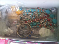 2- boxes full of new fashion jewellery great..
