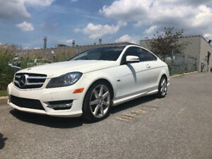 Mercedes c350 coupe 2012