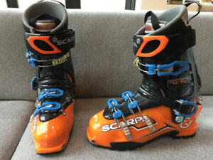 Scarpa Maestrale backcountry boots