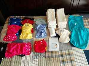 Apple Cheeks Cloth Diaper Set