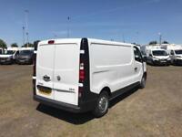 Vauxhall Vivaro L2 H1 2900 1.6Cdti 115Ps EURO 5 DIESEL MANUAL WHITE (2016)