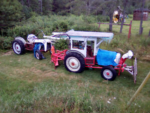 TRADE 2 FORD 8 N TRACTORS FOR 14-16 BOAT+TRAILER+small4- STROKE