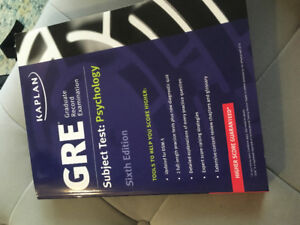 Kaplan GRE subject test: psychology. 6th edition.