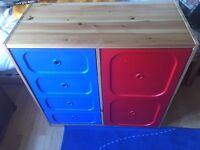 Ikea children's Drawers/cupboard