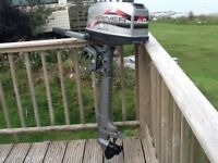 Mariner 4HP 2 stroke engine for sale (very low running hours)