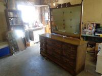 9 Drawer Solid Wood Dresser
