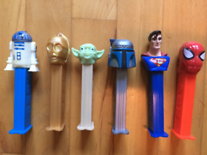 PEZ Star Wars and Assorted