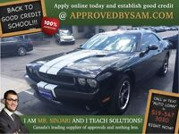 "Evol Black Challenger - TEXT ""AUTO LOAN"" TO 519 567 3020"