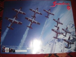 "Military ""Snowbirds"" and Skyhawk posters"