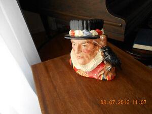 Royal Doulton large character jug. Yeoman of the Guard Cornwall Ontario image 2