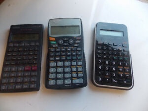 3 Scientific Calculators
