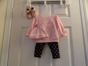 Baby Girls Outfits - Size 3-6 months old