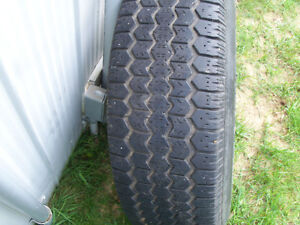 JEEP RIMS AND TIRES SET OF 4 London Ontario image 4