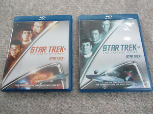 Original Star Trek Movies on Blu-ray - 2 To Choose From