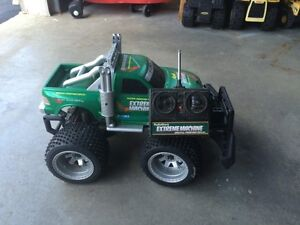Remote control monster truck.