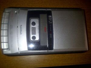 Cassette Recorder, voice activated, counter, etc