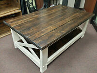 Two-Tone Coffee Tables