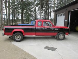 1993 Dodge Power Ram 3500 le Pickup Truck