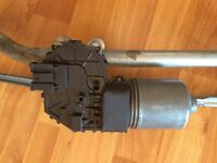 Bmw wiper motor assembly