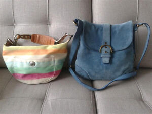 Lot of 2 Coach crossbody and shoulder bags