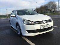 Volkswagen Golf BlueMotion TDI 1.6 105 PS Good / Bad Credit Car Finance (white) 2011