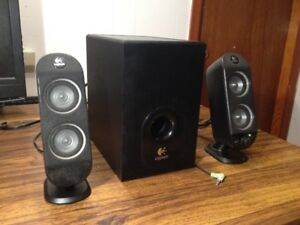 Logitech X-230 Multi Media 2.1 Speakers