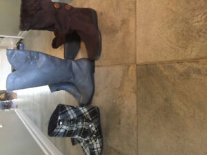 New Women's Size 6 boots! Also selling heels