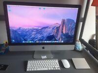 iMac 27 inch i5 processor 32 gb ram 1tb HD