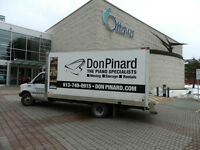 DON PINARD PIANO RENTALS * MOVING * STORAGE SPECIALISTS