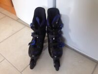Girls size 6 Reactor In liners Roller Blades