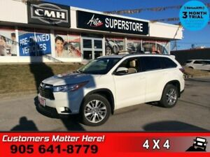 2016 Toyota Highlander XLE  AWD NAV LEATH ROOF CAM 7-PASS REAR-A