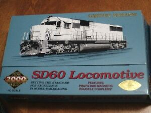 HO scale SOO Line SD60 locomotive for electric model trains