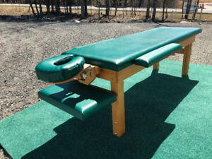 Table de massage professionnelle ajustable