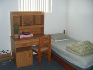 Furnished room available immediately