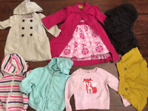 sweet clothes for 12-24 months girl