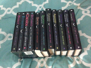 House of Night Series Books 1-11