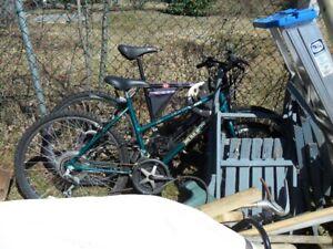 2  Bikes - Mens bike is gone.