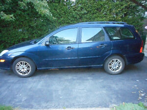 2002 Ford Focus SE Wagon - AS IS