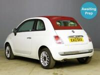 2012 FIAT 500 1.2 Lounge 2dr Convertible