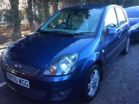 2006 Ford Fiesta 1.4 Petrol GHIA 5 Door *Beige Leather*