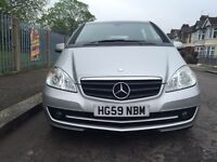 Mercedes_Benz A Class 1.6 A16 Automatic silver Mercedes Service History