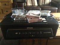 Epson Stylus all in one printer 8 brand new cartridges