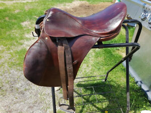 "English saddle- 16"" seat"
