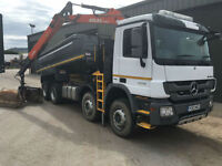 2013 Mercedes-Benz 3236 8x4 Tipper Grab