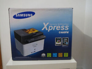Brand New Samsung Color Wireless Multifunction Laser Printer Fax