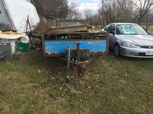 14 ft Landscape Trailer with Green House