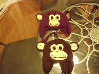 Handmade hats for baby
