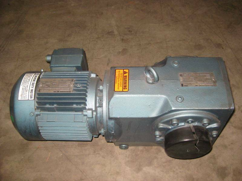 Sew Eurodrive K76SDT 1 HP Ratio:118.45 Gear Reducer NEW