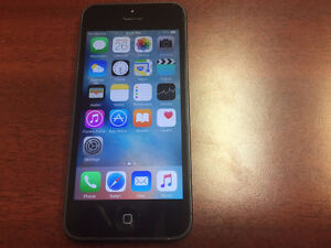 Iphone 5 16GB - Locked to rogers - 190.00 o.b.o