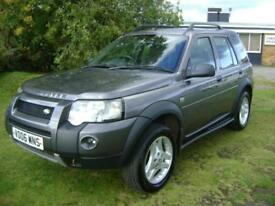 Land Rover Freelander 2.0Td4 Freestyle CAT D EIGHT SERVICE STAMPS